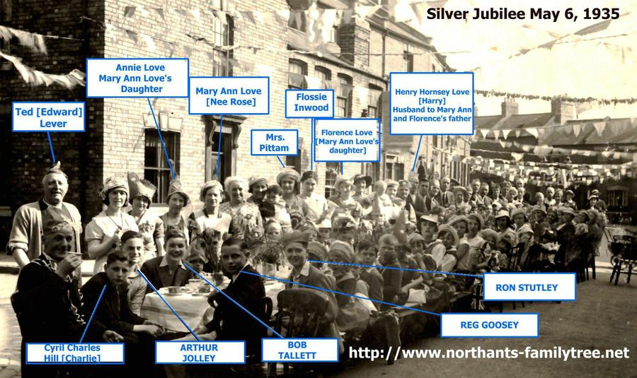 Maple Terrace George V Silver Jubilee 6th May 1935
