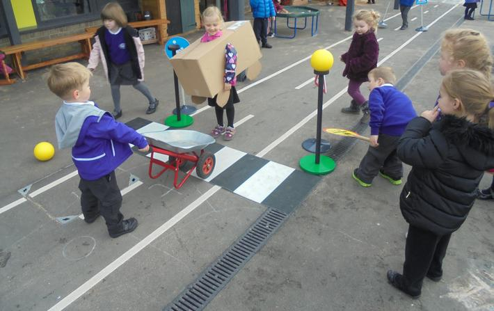 We enjoyed learning about road safety.