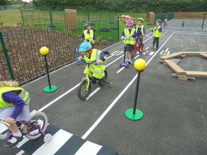 We had great fun celebrating National Bike Week!