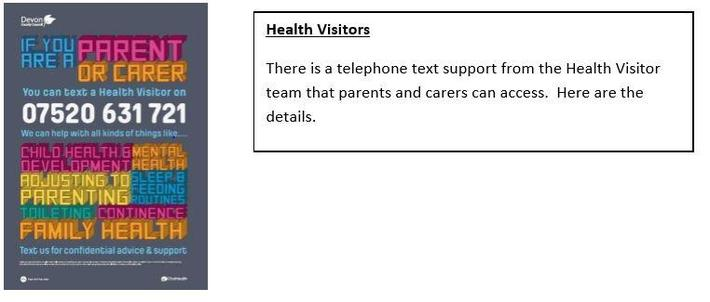 Health Visitor support