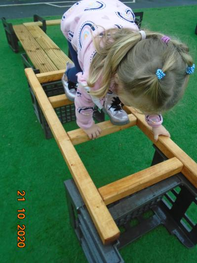 We love to climb and learn how to do this safely