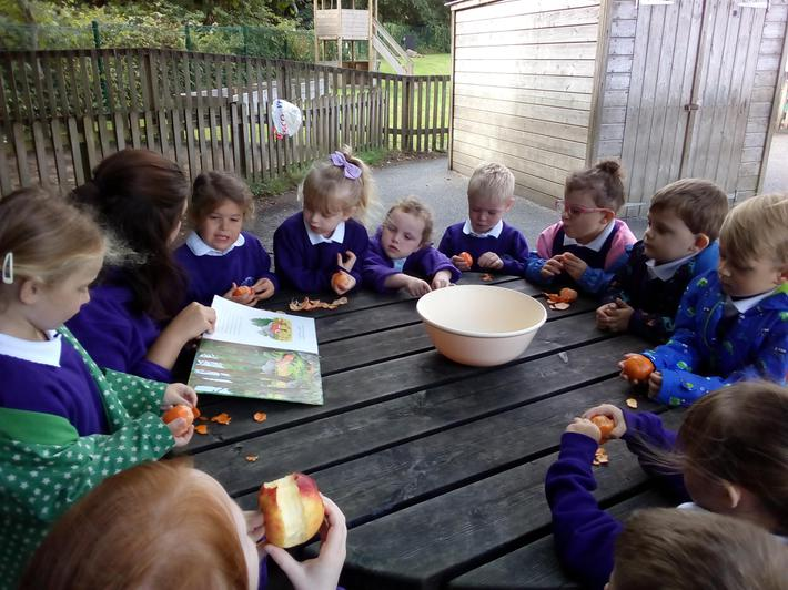 We decided we would like to make our own crumble!