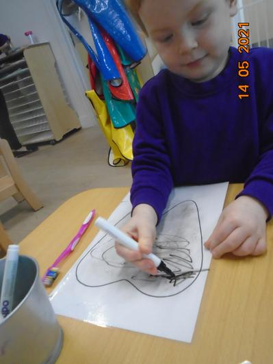 We have been learning about foods that are good and bad for our teeth.