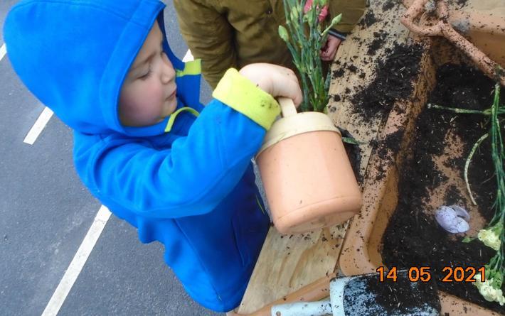 We created a garden centre.