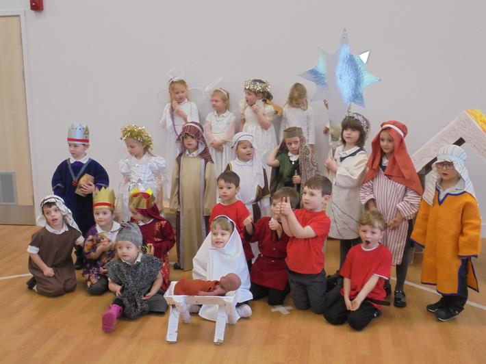 We are so proud of the children's Nativity.