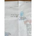 Maddi's map skills!