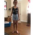 Maddi made shorts!