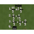 Bea's Minecraft maths- who knew it could be done?!