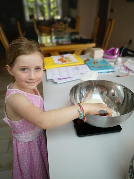 Eden's been baking
