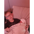 Zane is now a big brother!