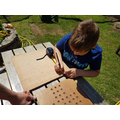 Jack measuring, drilling and drawing