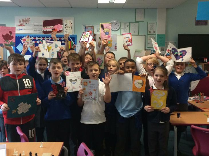 Receiving our Friendship Cards
