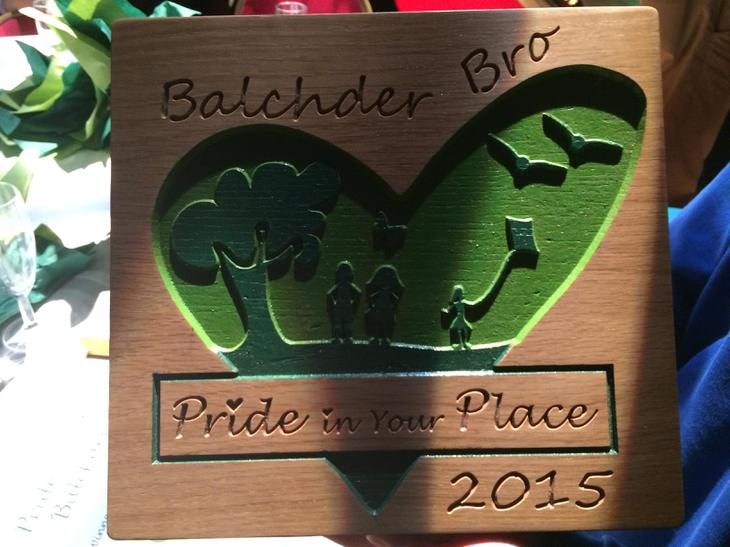 We won the Overall Pride in your Place Award!