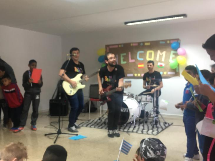 Beatles songs at Caritas