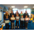 Congratulations to the Y2's and their parents for completing High Frequency Course 1 this half term, Well Done guys!