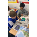 Year 4 make clay models of South America