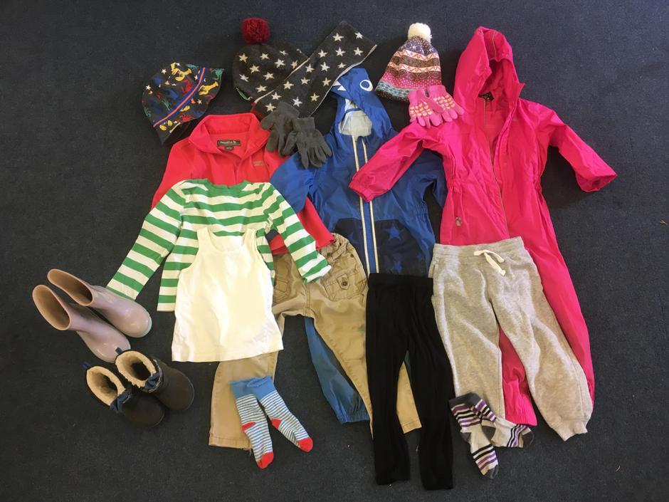 Ideal types of clothing for Forest School