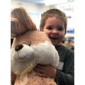Our Key Stage 1 Easter Raffle winner!