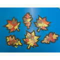 Year 1's Autumn leaves