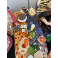 Tiger Who Came to Tea role play.