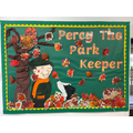 Percy the Park Keeper arrives in Foundation Stage