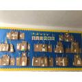 Year1 make paper bag sandcastles