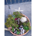 Easter Gardens made by the Akeley Children