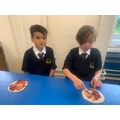Pizza making in Year 3