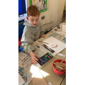 Year 3 create their own masterpieces inspired by Picasso