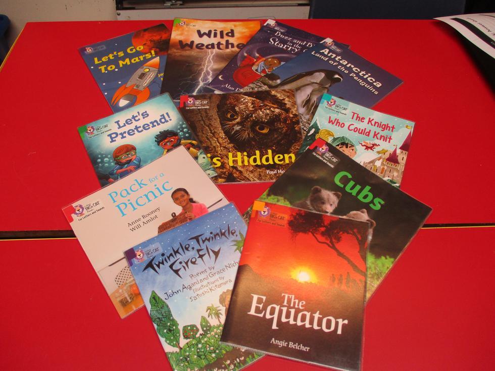 Sample of KS1 books