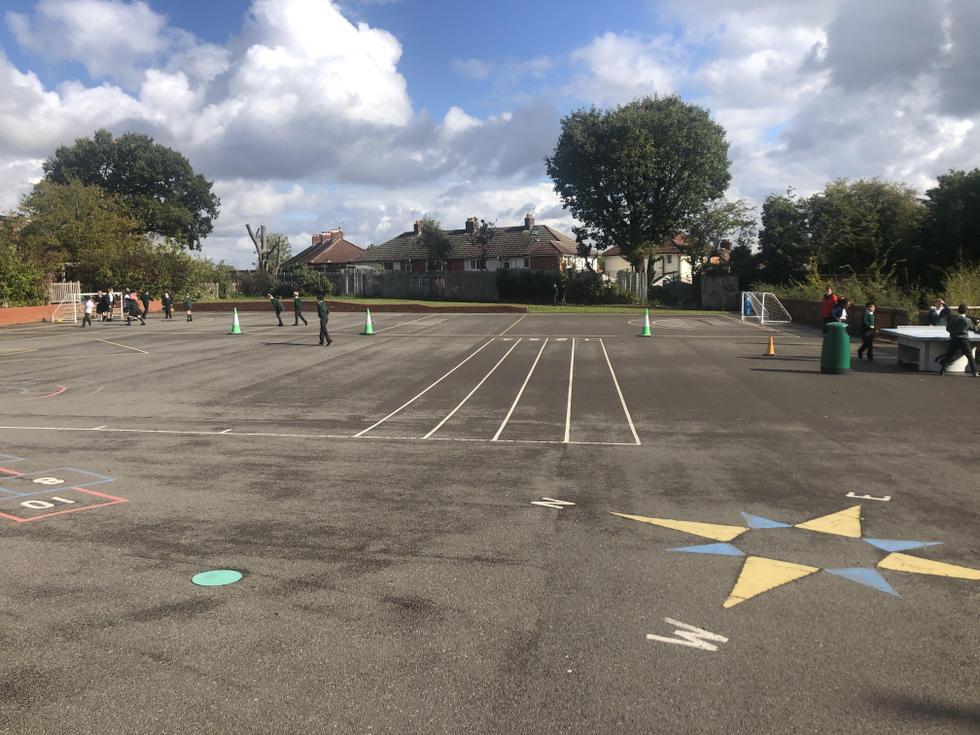 Key Stage 2 playground