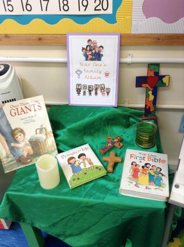 Y1 Prayer Table