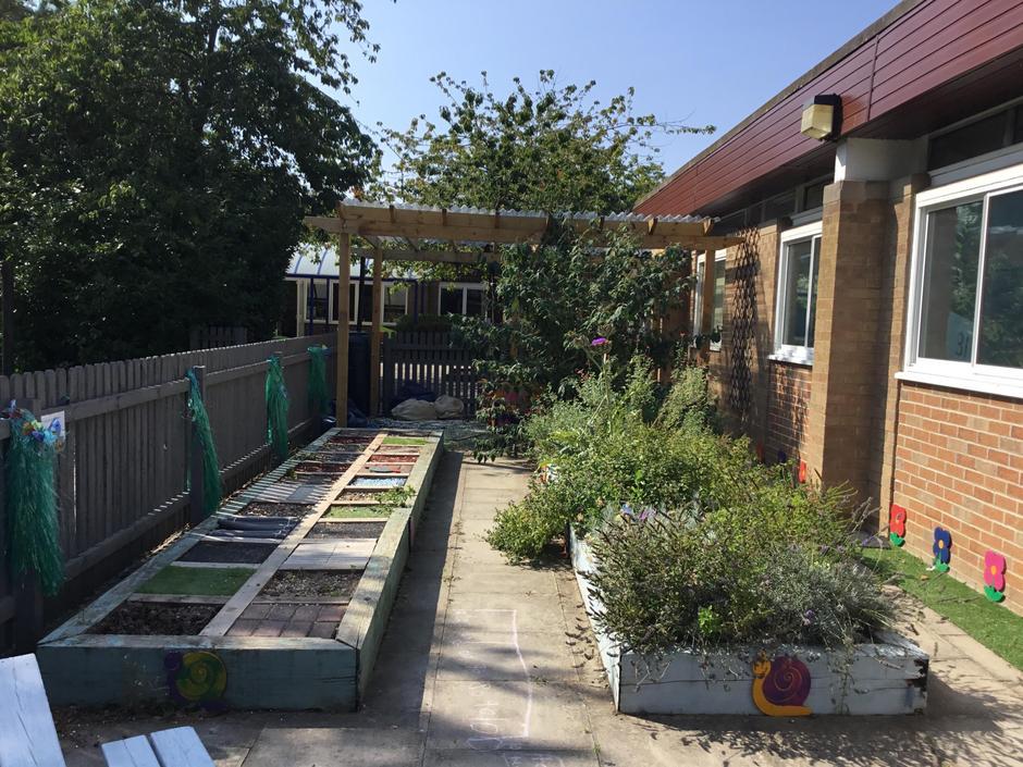 Our sensory gardens