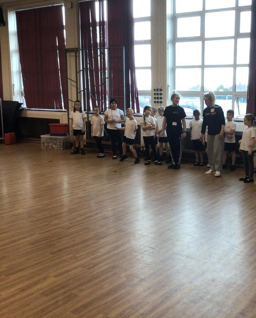 We took part in a Urban Kaos workshop.