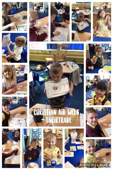We looked at the journey of a banana from the tree to the supermarket.