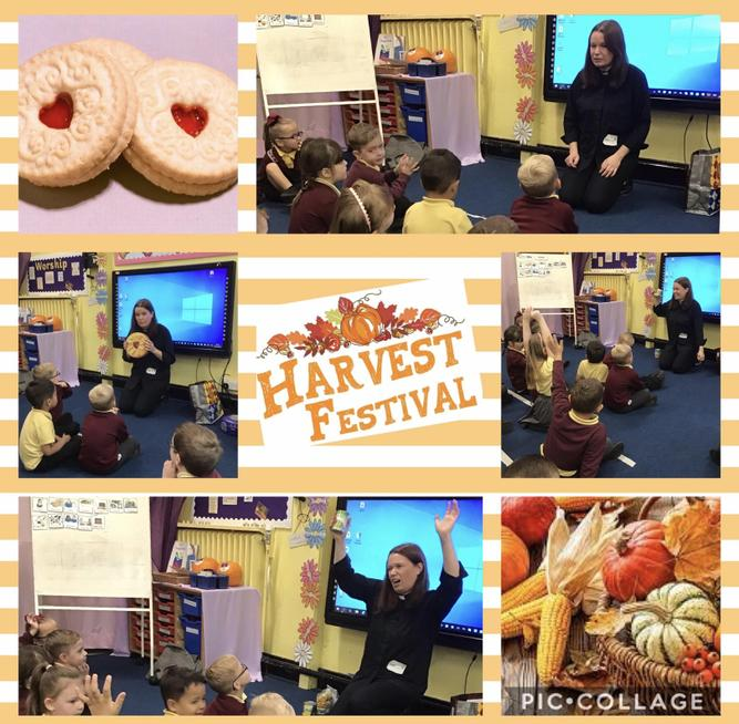 Reverend Jennie led a special worship for Harvest Festival.
