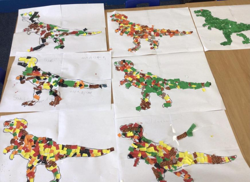 Dinosaur Art work