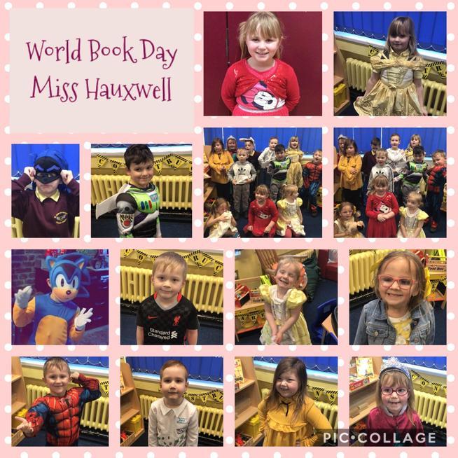 We had lots of fun celebrating World Book Day.