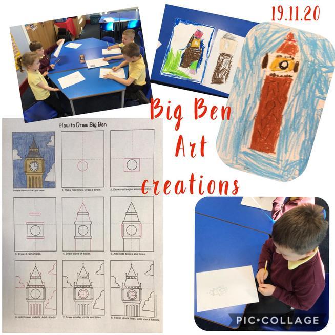 Big Ben art work