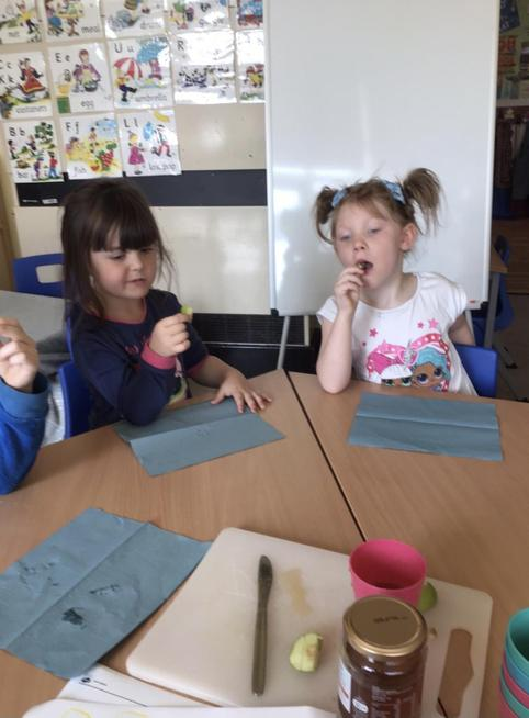We learned all about the Jewish Festival, 'Rosh Hashanah'.