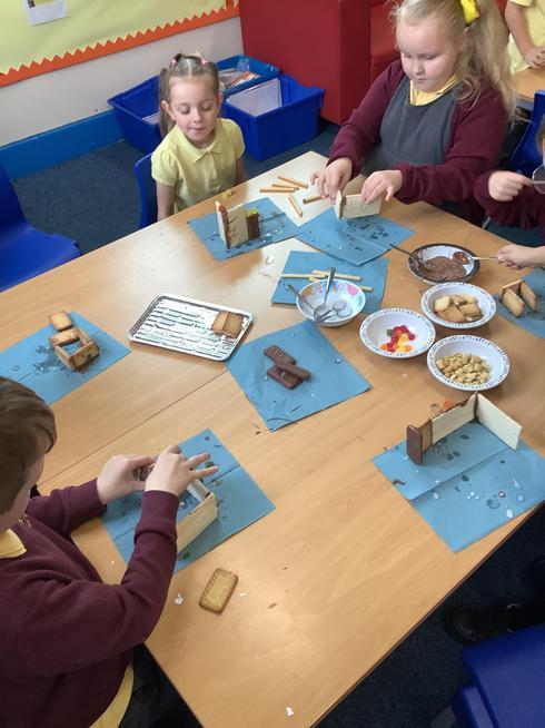Creating ediable houses