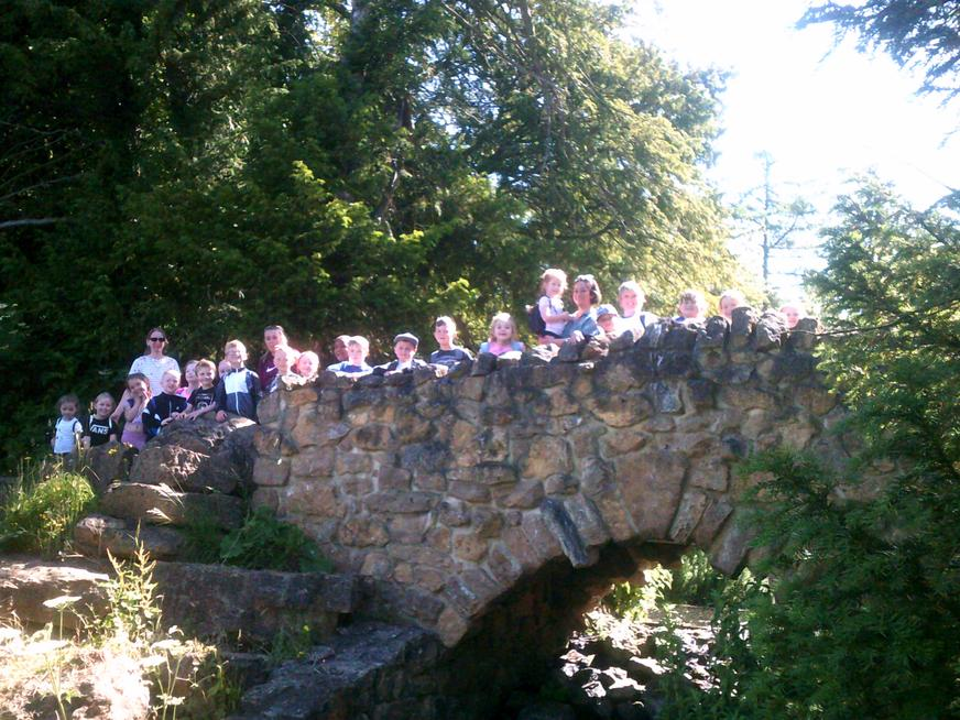Exploring at Hardwick Park