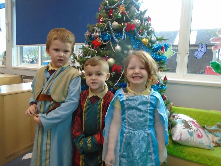 We have learnt about the Christmas Story.