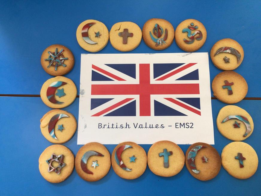 Baking cookies with symbols from different religions