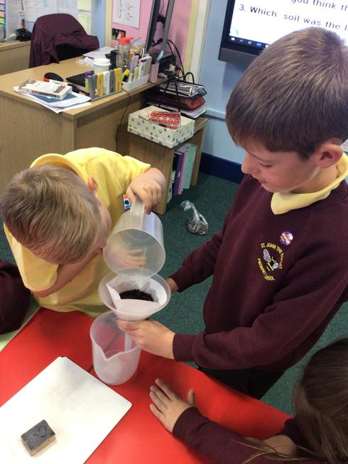 Our soil investigation
