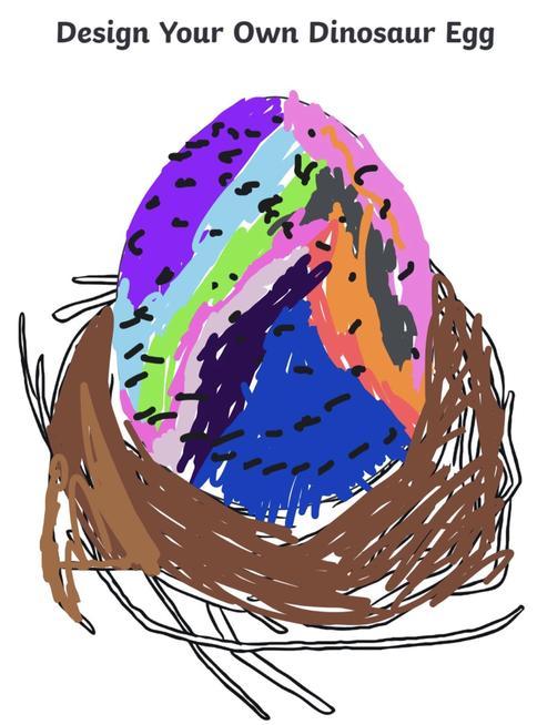 Designing Dinosaur eggs