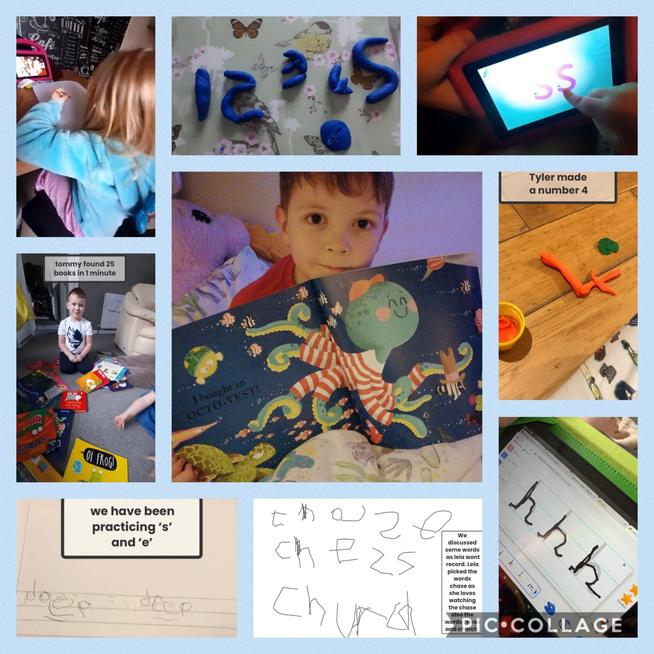 We have worked hard to learn new sounds and practised 'Dough Disco', daily.