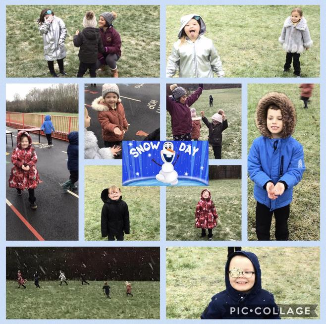 After Christmas, the snow arrived and we had lots of fun playing and exploring.