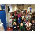 Year 3 dress up for book week!