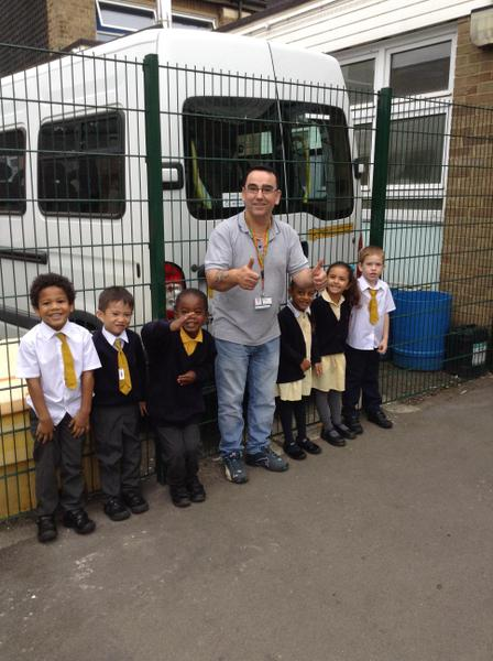 Mr Alves looks after the whole school building!